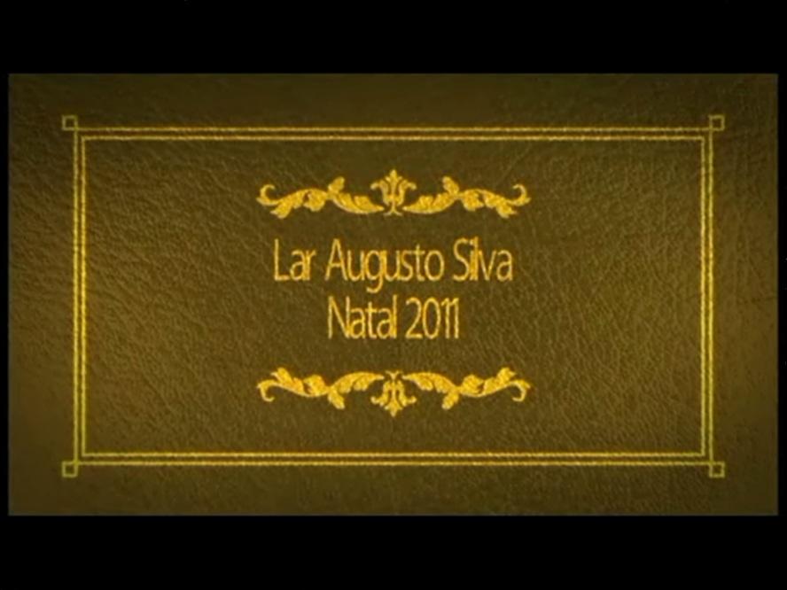 Natal em Lavras - Lar Augusto Silva 2011